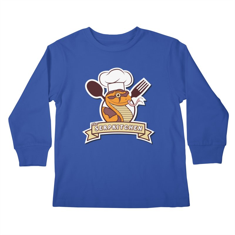 The SerpKitchen Kids Longsleeve T-Shirt by Drawn to Scales
