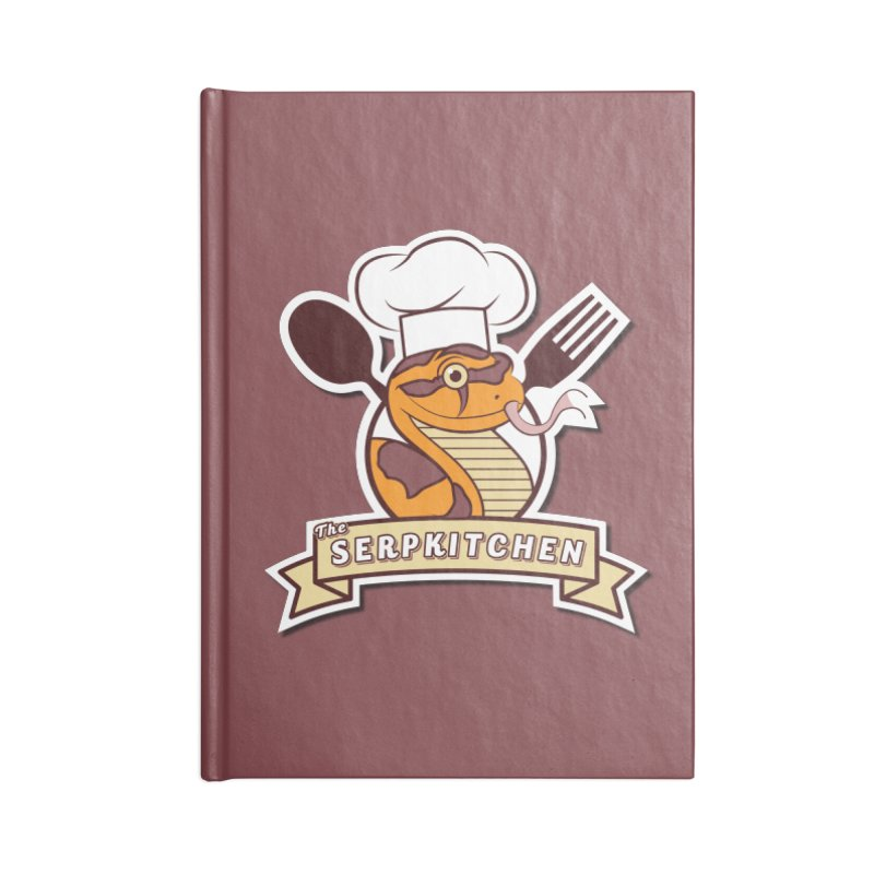 The SerpKitchen Accessories Lined Journal Notebook by Drawn to Scales