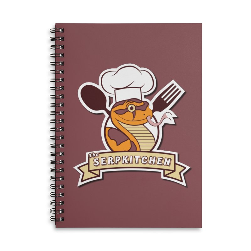 The SerpKitchen Accessories Notebook by Drawn to Scales
