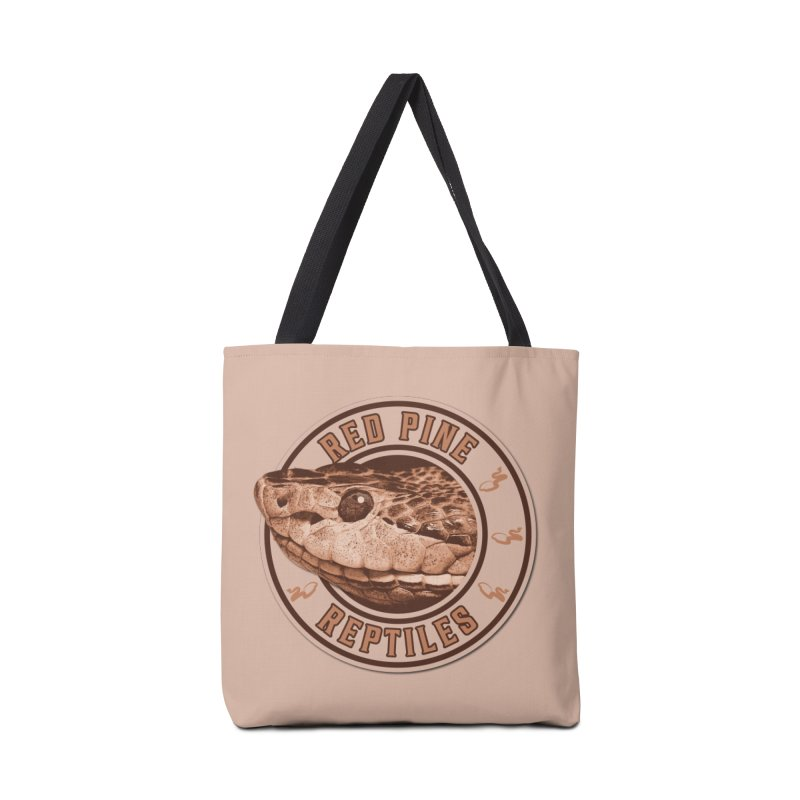 Red Pine Reptiles Accessories Bag by Drawn to Scales