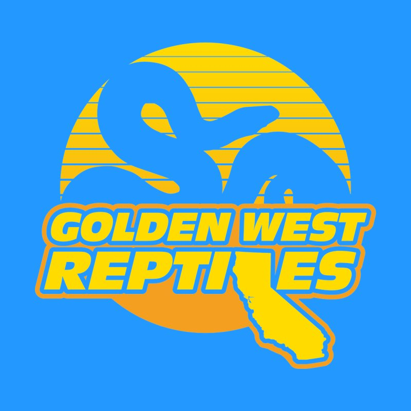 Golden West Reptiles Men's T-Shirt by Drawn to Scales