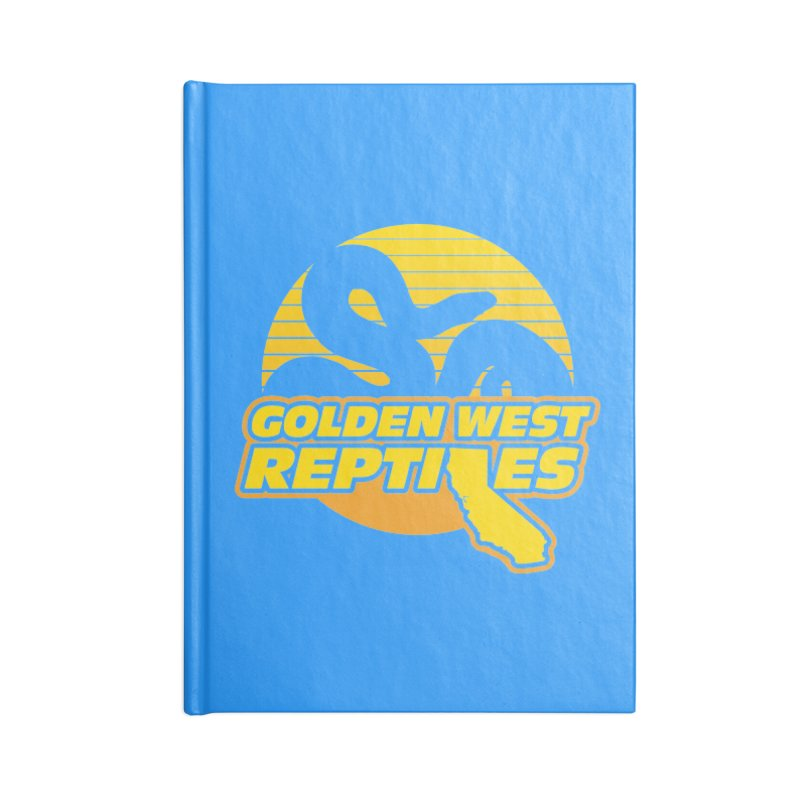 Golden West Reptiles Accessories Blank Journal Notebook by Drawn to Scales
