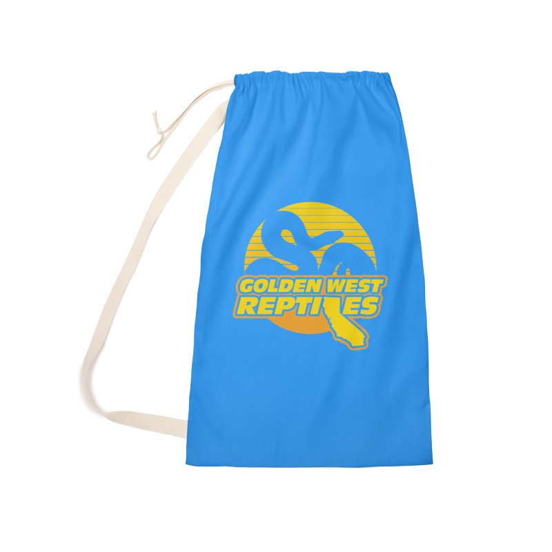 Golden West Reptiles Accessories Laundry Bag Bag by Drawn to Scales