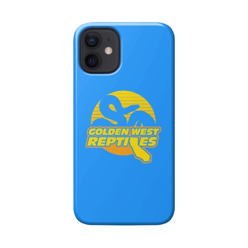 Golden West Reptiles Accessories Phone Case by Drawn to Scales
