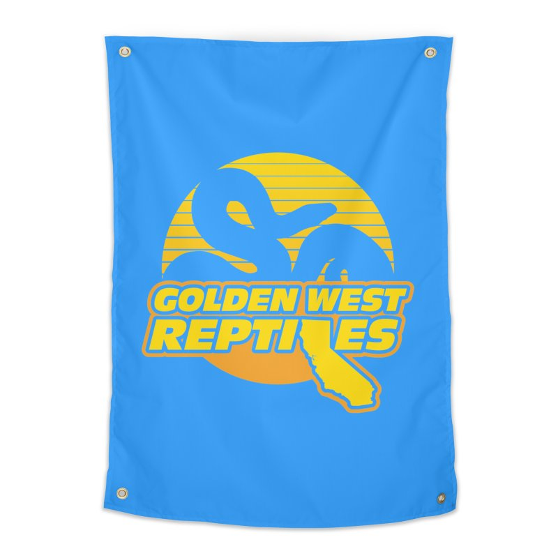 Golden West Reptiles Home Tapestry by Drawn to Scales