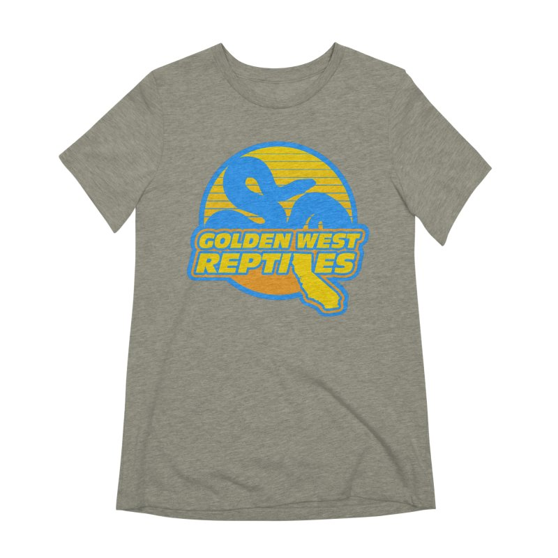 Golden West Reptiles Women's Extra Soft T-Shirt by Drawn to Scales