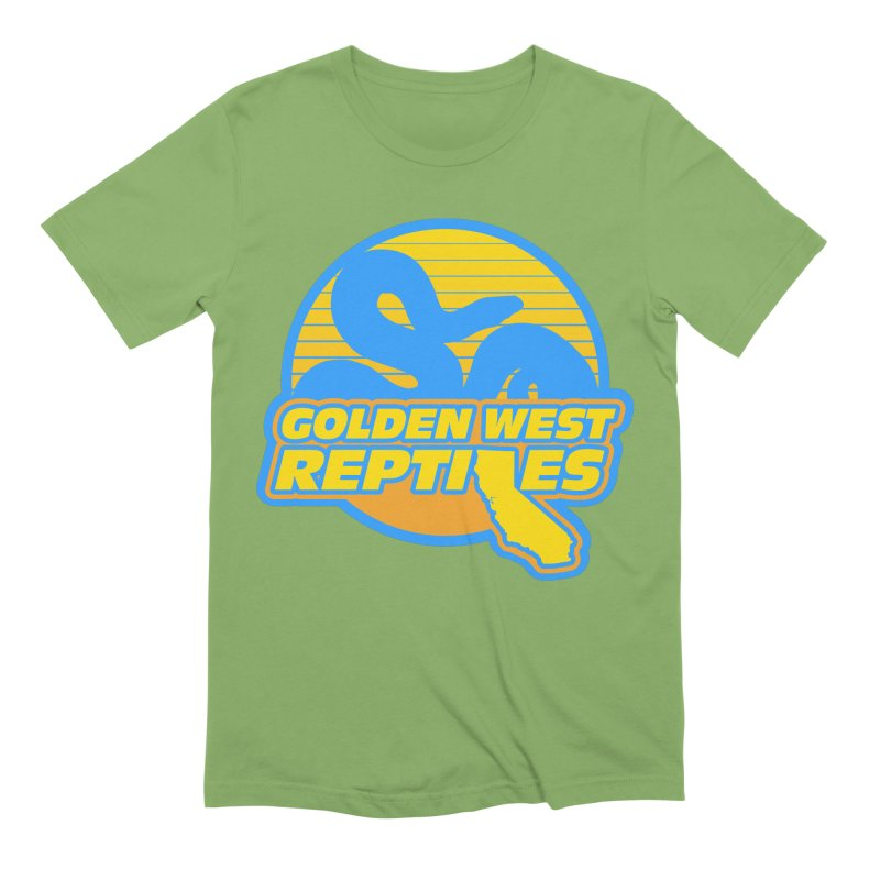 Golden West Reptiles Men's Extra Soft T-Shirt by Drawn to Scales