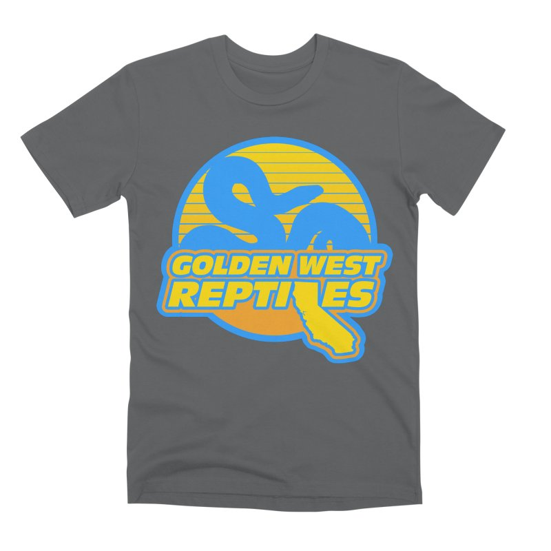 Golden West Reptiles Men's Premium T-Shirt by Drawn to Scales