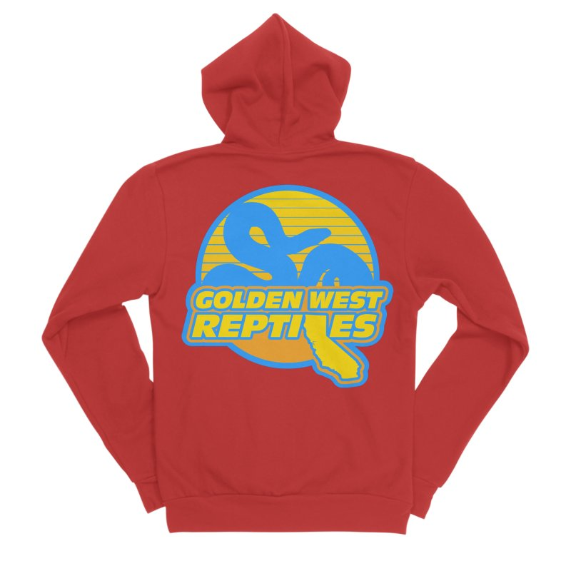 Golden West Reptiles Men's Zip-Up Hoody by Drawn to Scales