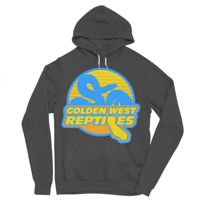 Golden West Reptiles Women's Sponge Fleece Pullover Hoody by Drawn to Scales