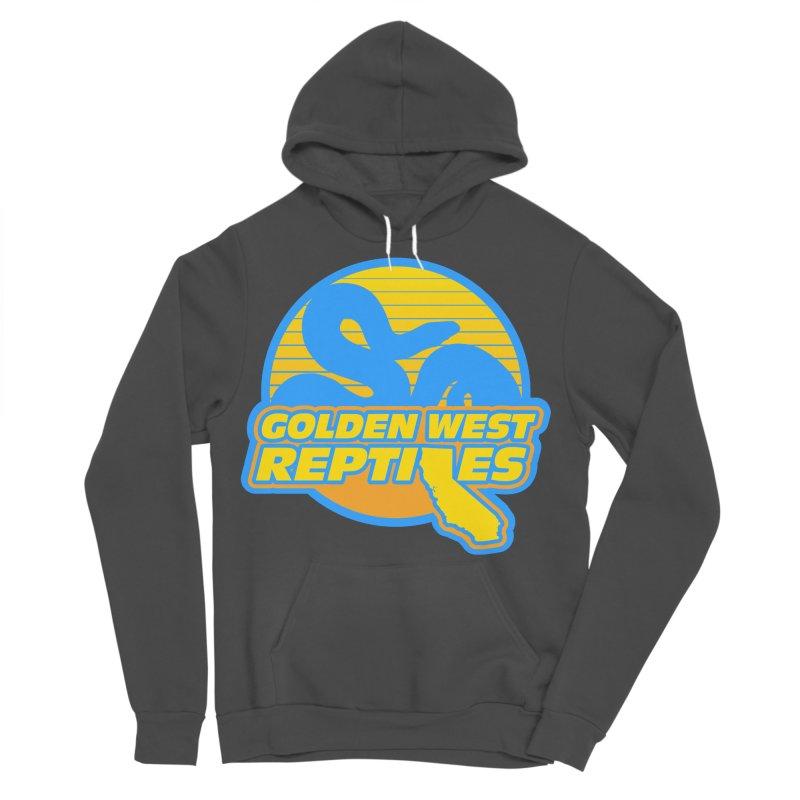 Golden West Reptiles Men's Sponge Fleece Pullover Hoody by Drawn to Scales