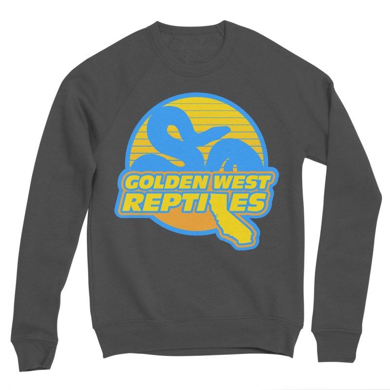 Golden West Reptiles Men's Sponge Fleece Sweatshirt by Drawn to Scales