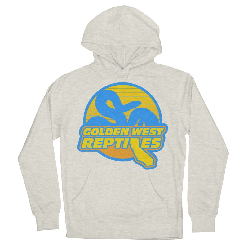 Golden West Reptiles Women's French Terry Pullover Hoody by Drawn to Scales