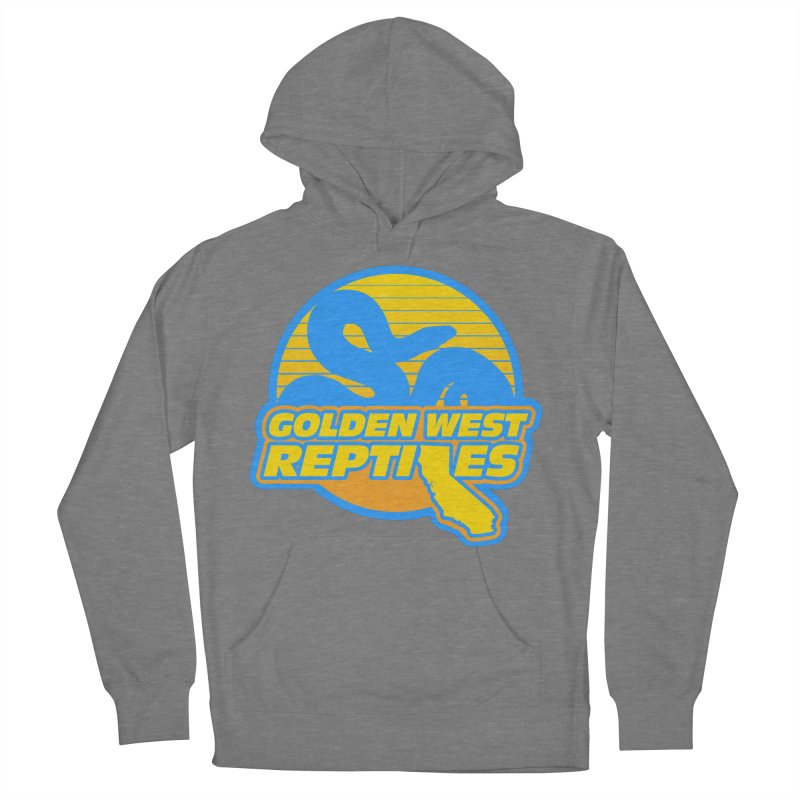 Golden West Reptiles Men's French Terry Pullover Hoody by Drawn to Scales