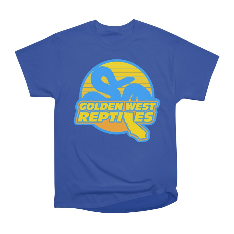 Golden West Reptiles Men's Heavyweight T-Shirt by Drawn to Scales