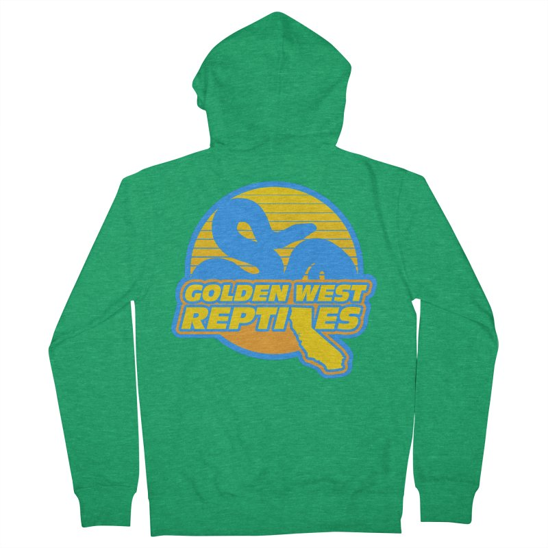 Golden West Reptiles Women's Zip-Up Hoody by Drawn to Scales