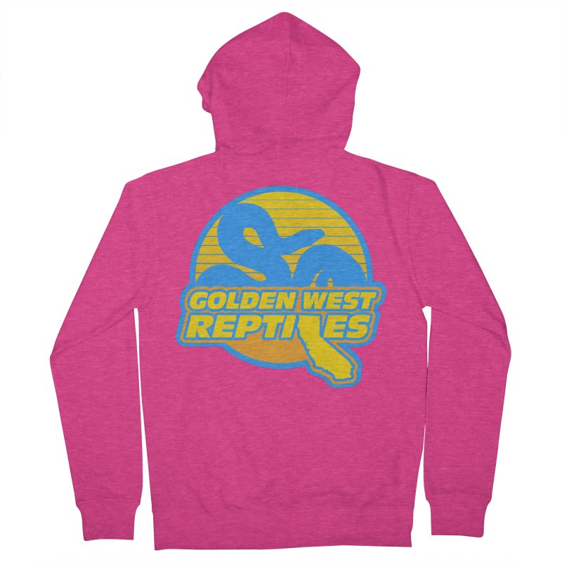 Golden West Reptiles Women's French Terry Zip-Up Hoody by Drawn to Scales