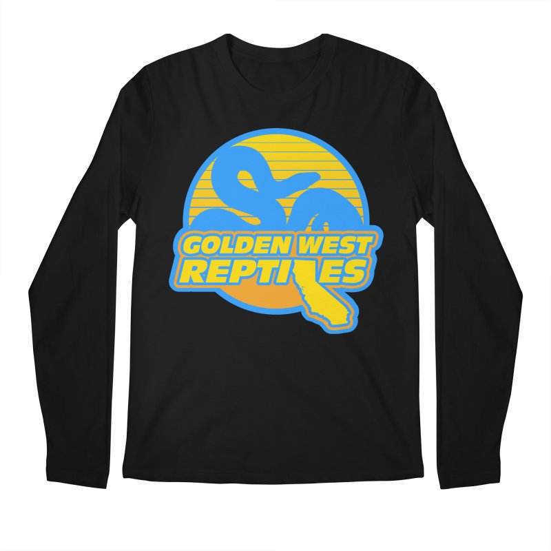 Golden West Reptiles Men's Regular Longsleeve T-Shirt by Drawn to Scales