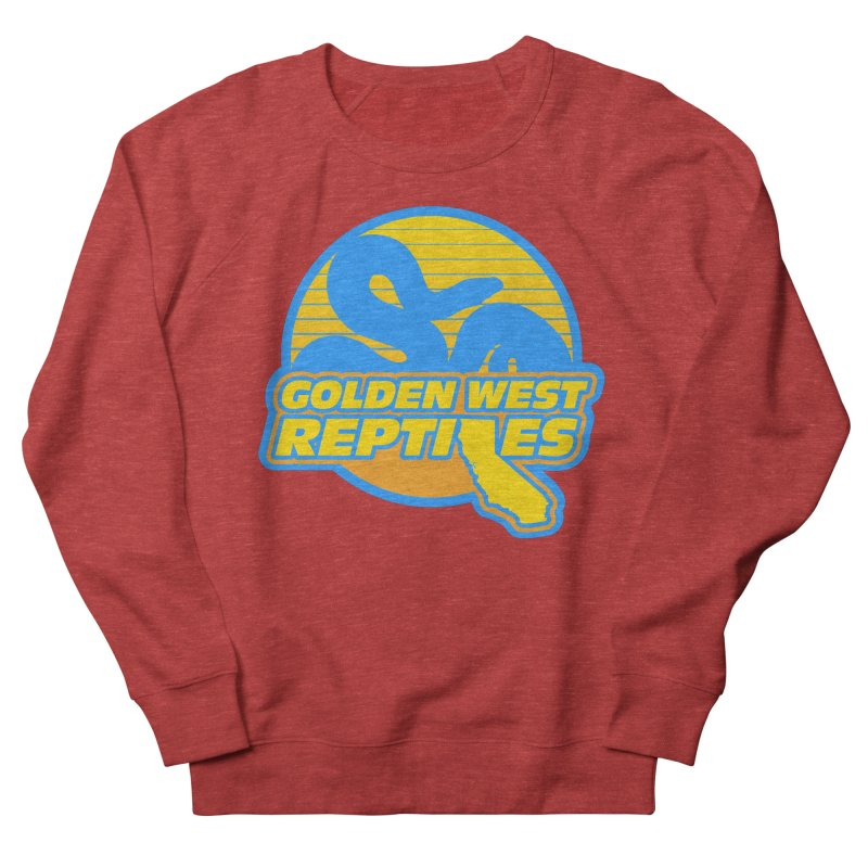 Golden West Reptiles Women's French Terry Sweatshirt by Drawn to Scales
