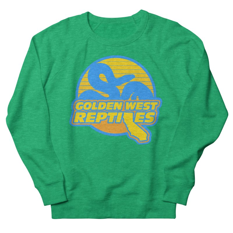 Golden West Reptiles Men's French Terry Sweatshirt by Drawn to Scales