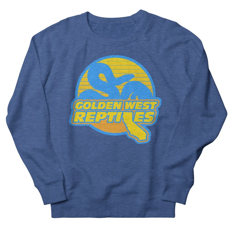 Golden West Reptiles Men's Sweatshirt by Drawn to Scales
