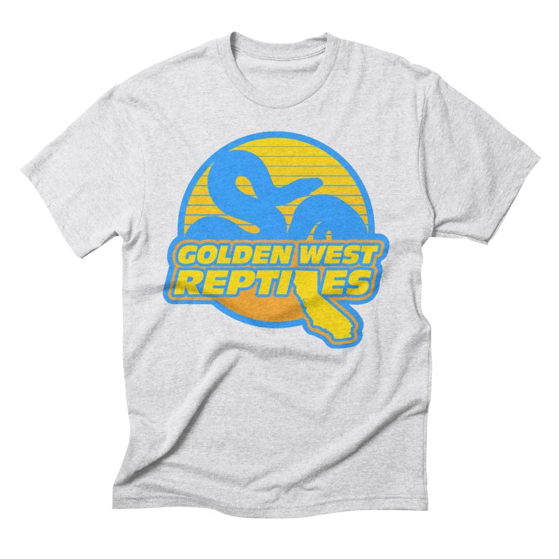 Golden West Reptiles Men's Triblend T-Shirt by Drawn to Scales