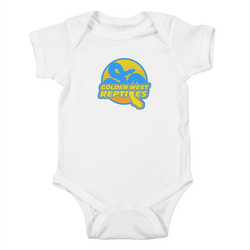 Golden West Reptiles Kids Baby Bodysuit by Drawn to Scales