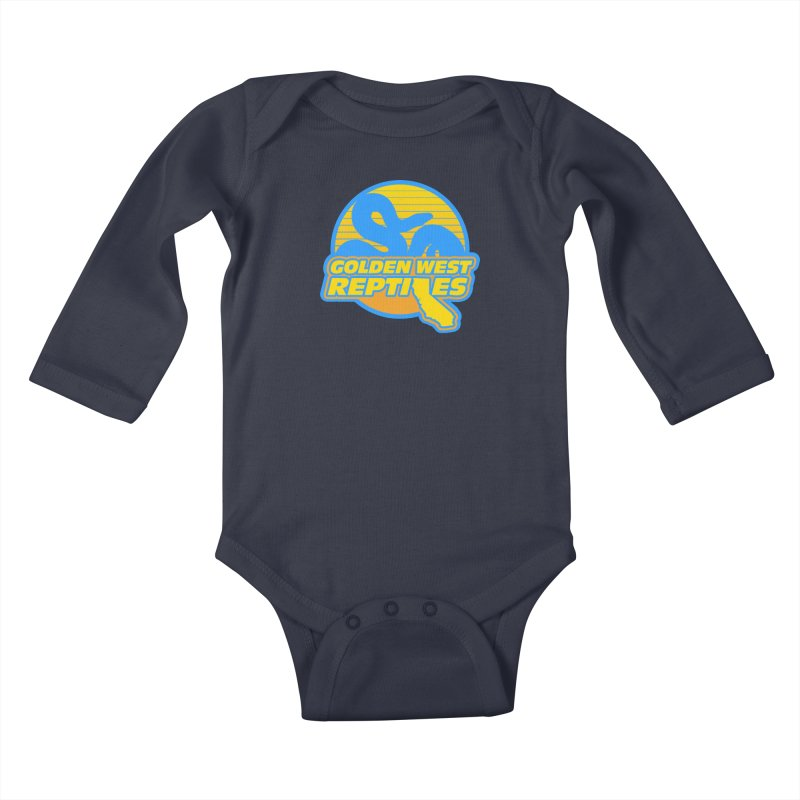 Golden West Reptiles Kids Baby Longsleeve Bodysuit by Drawn to Scales