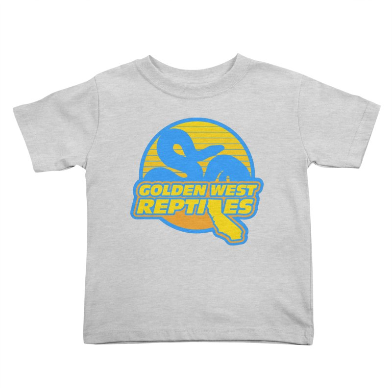 Golden West Reptiles Kids Toddler T-Shirt by Drawn to Scales