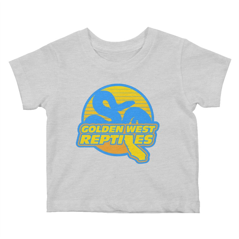 Golden West Reptiles Kids Baby T-Shirt by Drawn to Scales