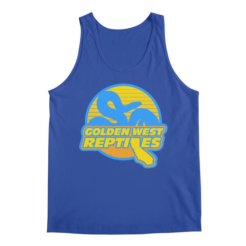 Golden West Reptiles Men's Regular Tank by Drawn to Scales