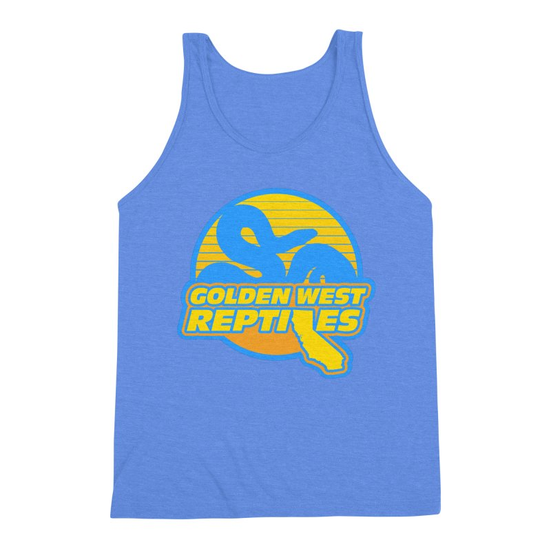 Golden West Reptiles Men's Triblend Tank by Drawn to Scales