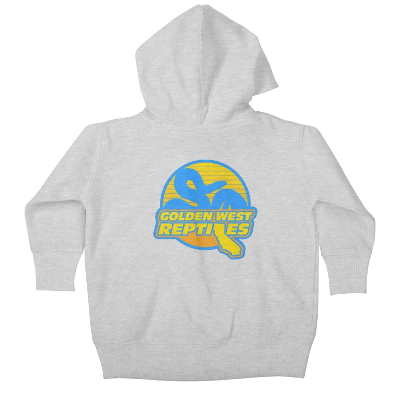 Golden West Reptiles Kids Baby Zip-Up Hoody by Drawn to Scales