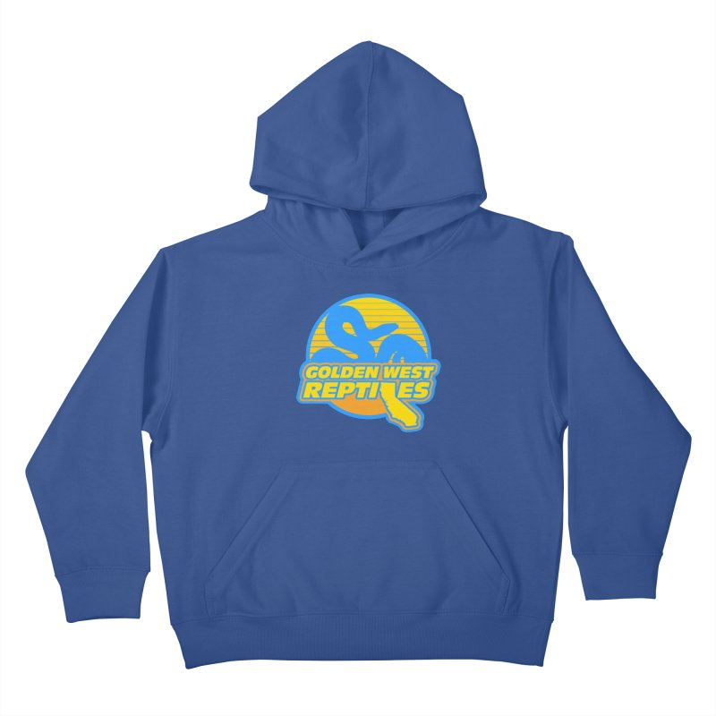 Golden West Reptiles Kids Pullover Hoody by Drawn to Scales