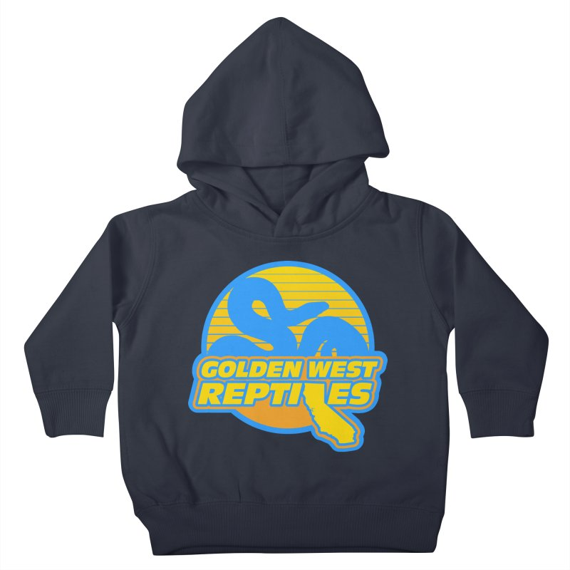 Golden West Reptiles Kids Toddler Pullover Hoody by Drawn to Scales