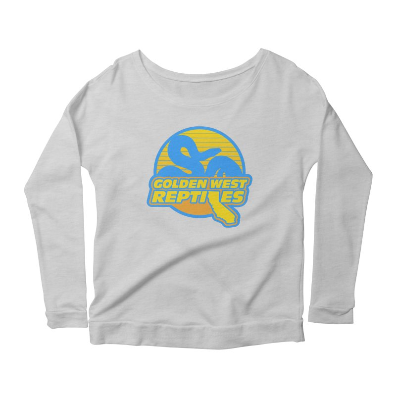 Golden West Reptiles Women's Scoop Neck Longsleeve T-Shirt by Drawn to Scales