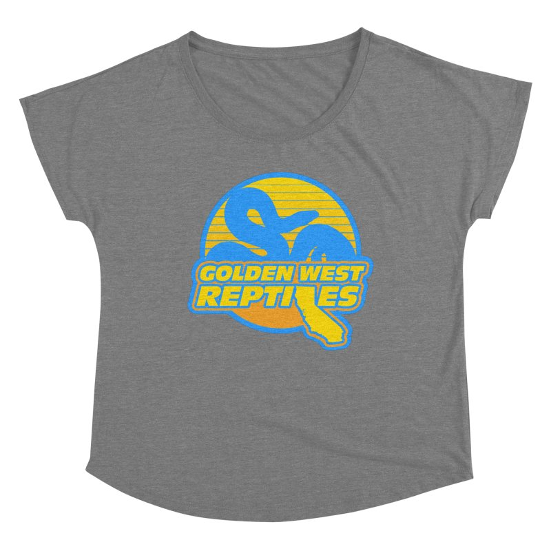 Golden West Reptiles Women's Scoop Neck by Drawn to Scales
