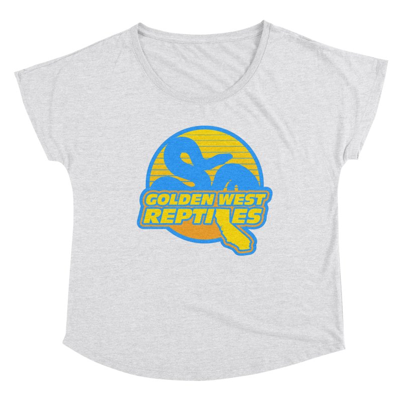 Golden West Reptiles Women's Dolman Scoop Neck by Drawn to Scales
