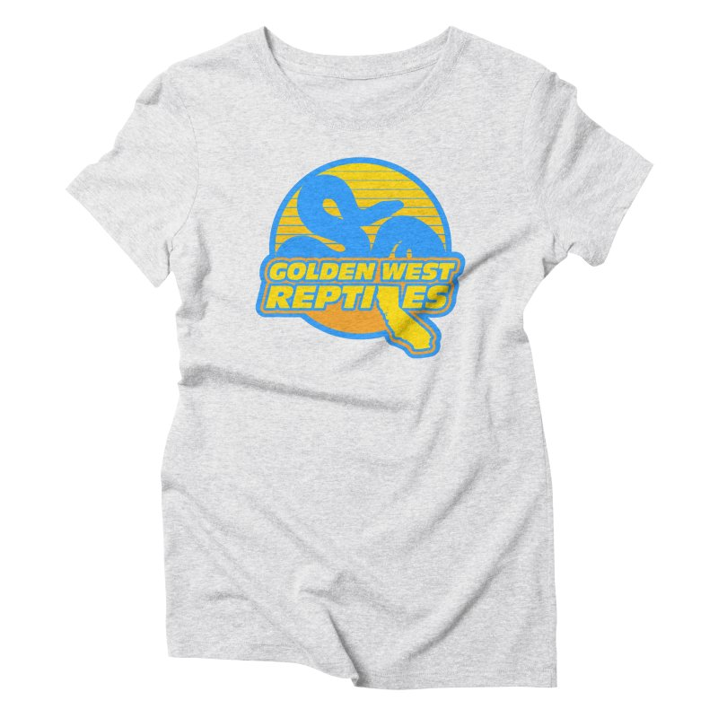 Golden West Reptiles Women's Triblend T-Shirt by Drawn to Scales