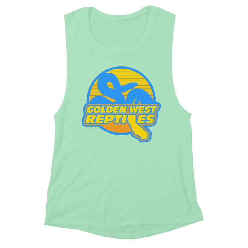 Golden West Reptiles Women's Muscle Tank by Drawn to Scales