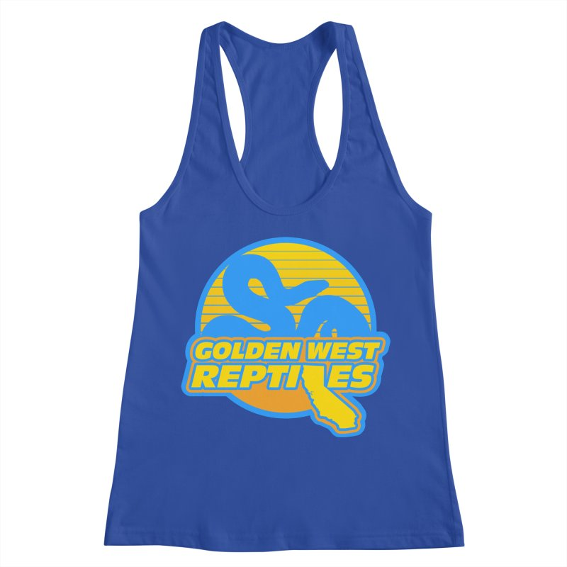 Golden West Reptiles Women's Racerback Tank by Drawn to Scales