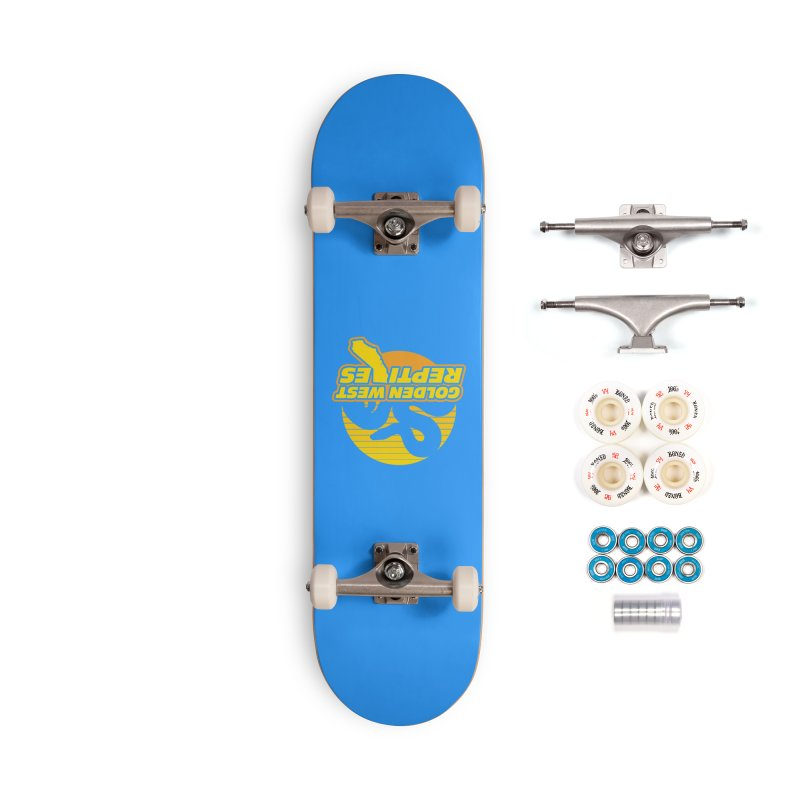 Golden West Reptiles Accessories Complete - Premium Skateboard by Drawn to Scales