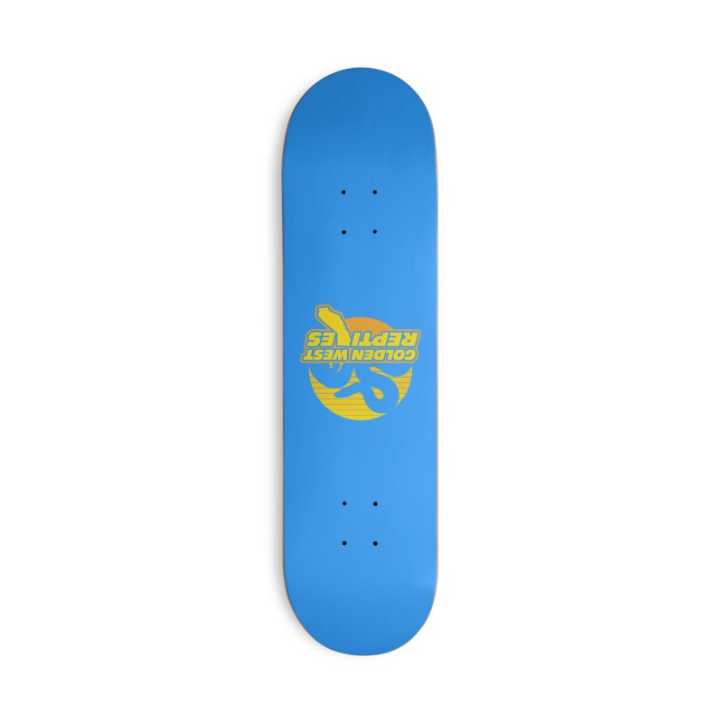 Golden West Reptiles Accessories Deck Only Skateboard by Drawn to Scales