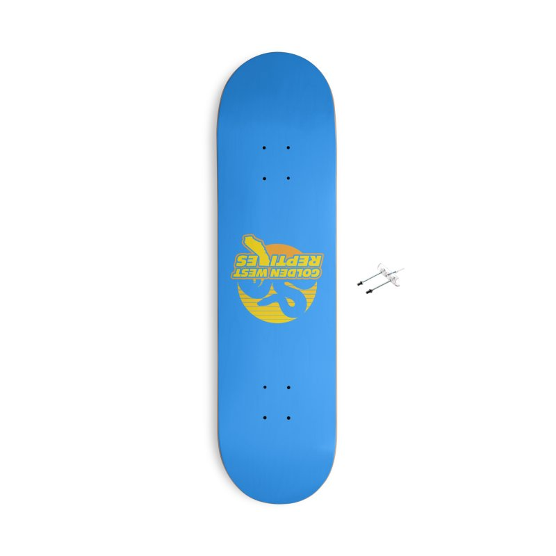 Golden West Reptiles Accessories With Hanging Hardware Skateboard by Drawn to Scales