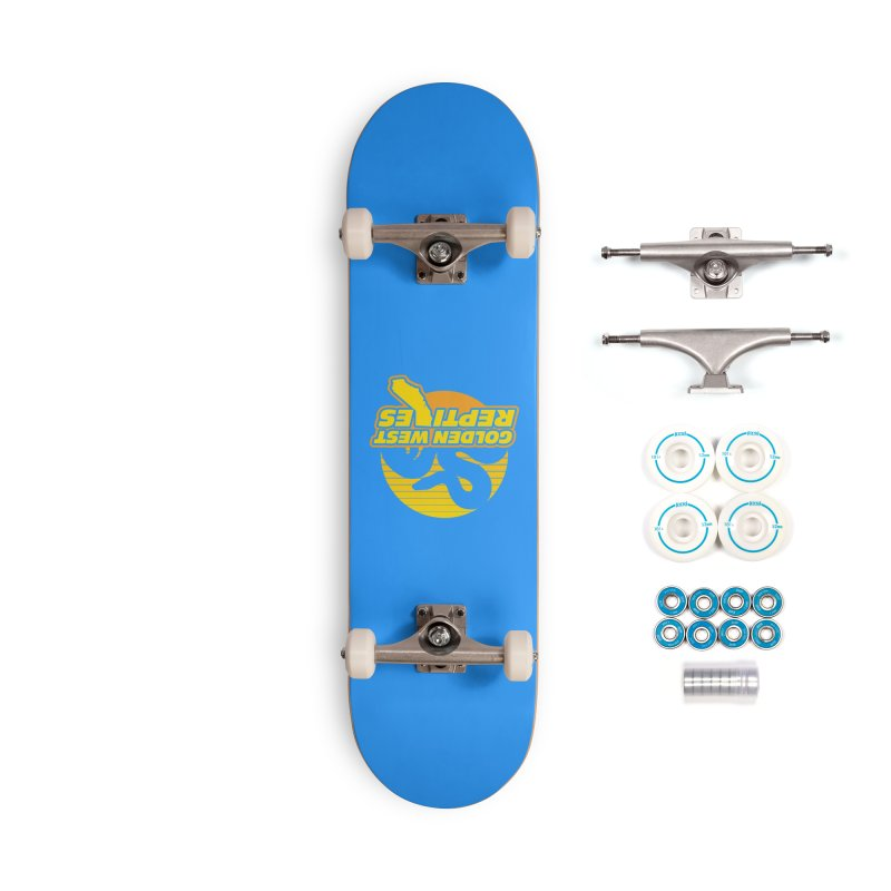 Golden West Reptiles Accessories Complete - Basic Skateboard by Drawn to Scales