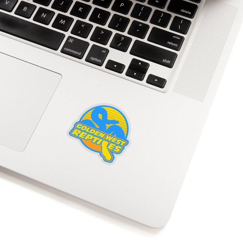 Golden West Reptiles Accessories Sticker by Drawn to Scales