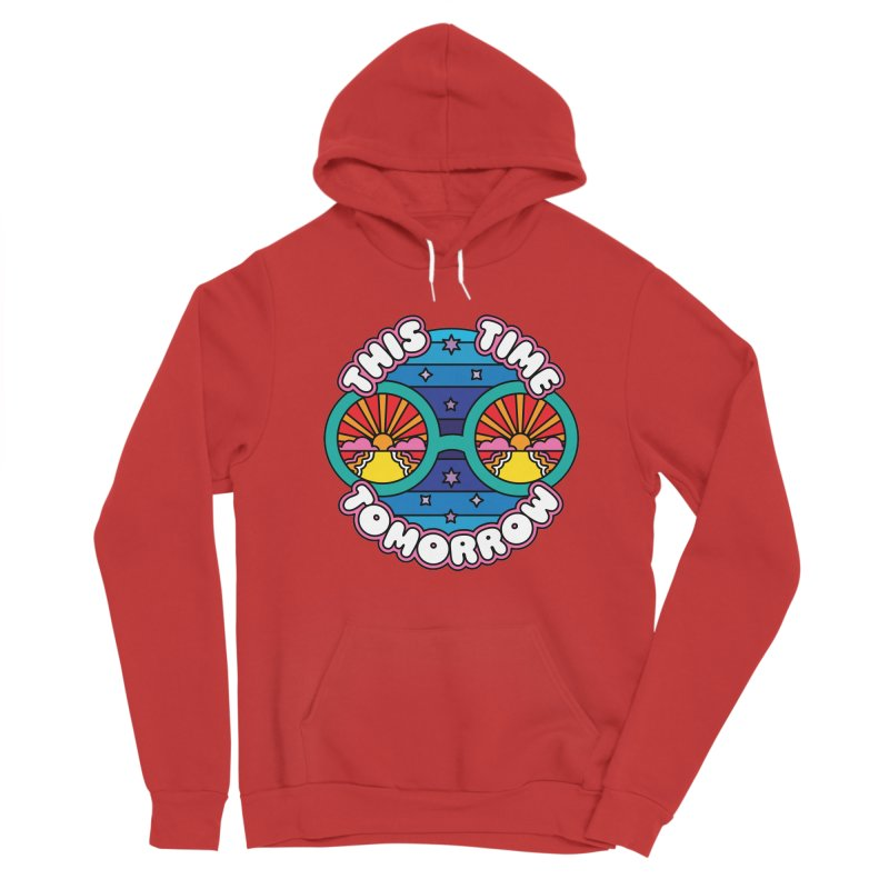 This Time Tomorrow Men's Pullover Hoody by Draw! Pilgrim