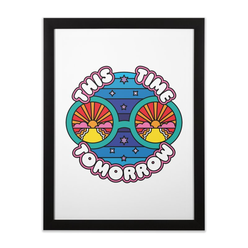 This Time Tomorrow Home Framed Fine Art Print by Draw! Pilgrim
