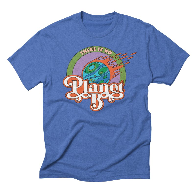 There Is No Planet B Men's T-Shirt by Draw! Pilgrim