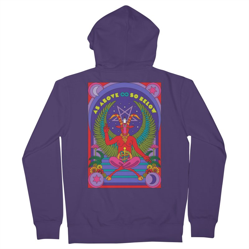 As Above So Below Women's Zip-Up Hoody by Draw! Pilgrim